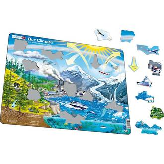 Larsen Maxi Puzzle Our Climate and the Greenhouse Effect (69pc)