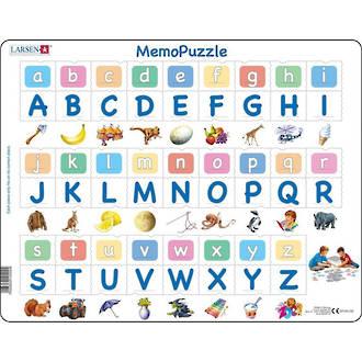 Larsen Tray Puzzle - Memo Alphabet