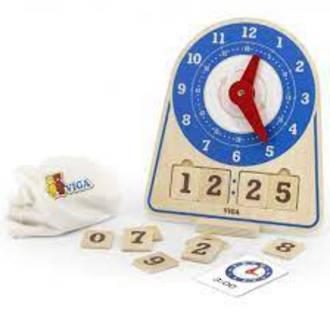 VIGA Learning Clock