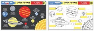 Melissa & Doug Planets Write A Mat