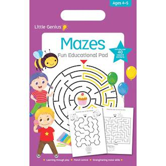 Little Genius - Mazes Fun Educational Pad