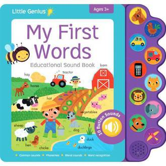 Little Genius - My First Words Educational Sound Book