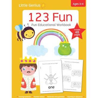 Little Genius 123 Fun Workbook