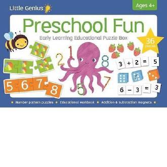 Little Genius Preschool Puzzle Box