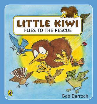 Little Kiwi Flies to the Rescue