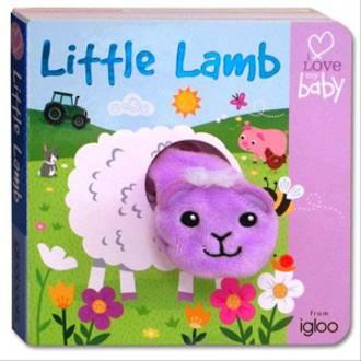 Finger Puppet Book Little Lamb