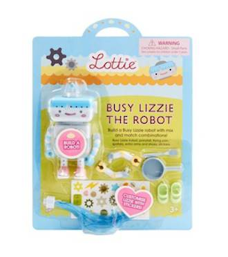Lottie Doll Accessories - Busy Lizzie the Robot
