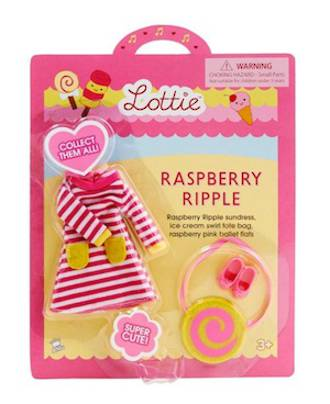Lottie Doll Accessories - Raspberry Ripple