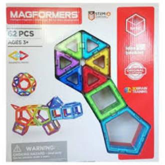 Magformers Basic Set Line 62 Piece Set