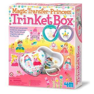 Magic Transfer Princess Trinket Box