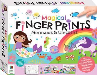 Magical Finger Prints Kit Mermaids & Unicorns