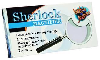 Sherlock Magnifier Metal 75mm