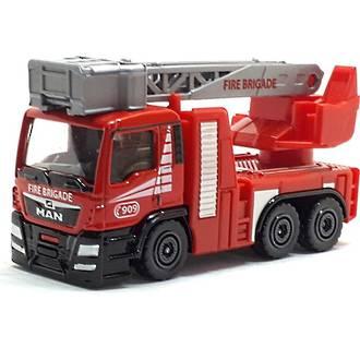 Majorette S.O.S. Cars MAN TGS Fire Truck