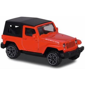 Majorette Street Cars Jeep Rubicon Red