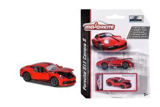 Majorette Porsche 911 Carrera S Car Red