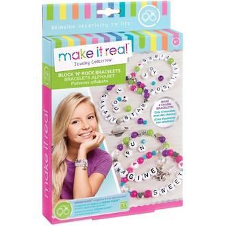 Make It Real Block 'n Rock Bracelets