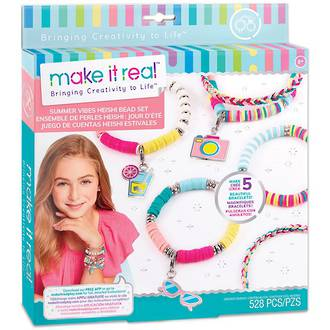 Make It Real Summer Vibes Heishi Bead Set