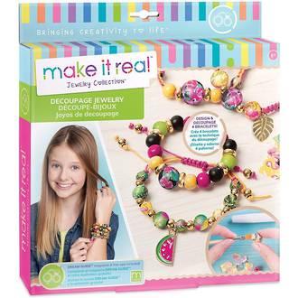 Make it Real Decoupage Jewellery