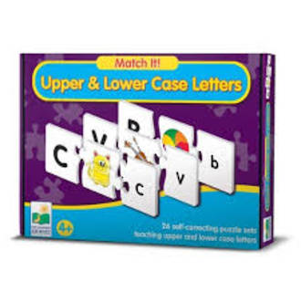 Match it Upper and Lower Case