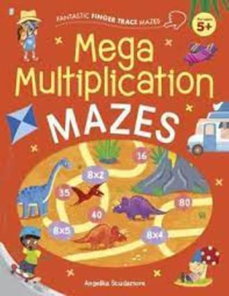 Mega Multiplication Mazes