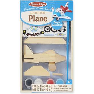 Melissa & Doug Decorate Your Own Wooden Plane