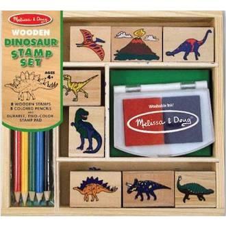 Melissa & Doug Dinosaur Stamps Set