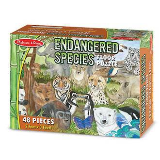 Melissa & Doug Endangered Species Floor Puzzle