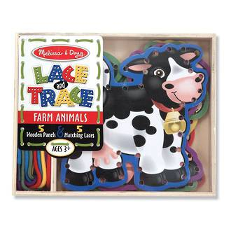Melissa & Doug Lace & Trace Farm