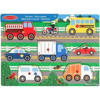 Melissa & Doug Peg Puzzle Vehicle