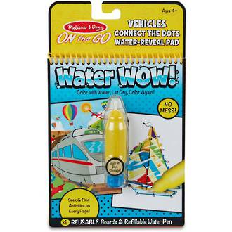Melissa & Doug Water Wow Vehicle Connect The Dots