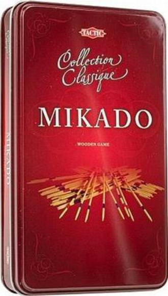 Tactic Mikado Collection Classique Wooden Game