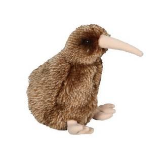 Mini Brown Kiwi Finger Puppet