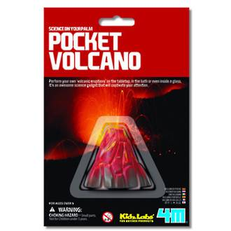 Mini Science Pocket Volcano