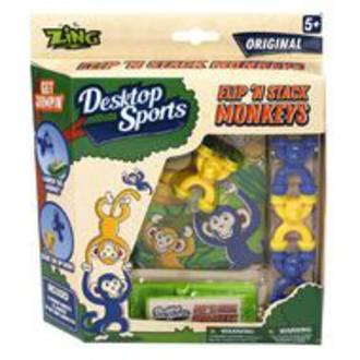 Desktop Sports Flip N Stack Monkeys Game