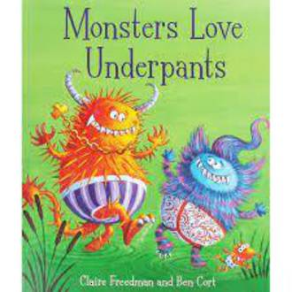 Monsters Love Underpants