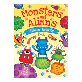 Monster and Aliens Sticker Activity Book