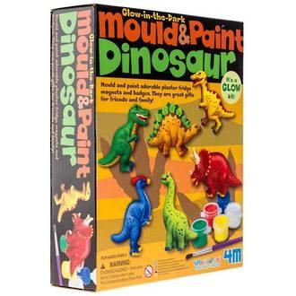 4M Mould & Paint Dinosaur