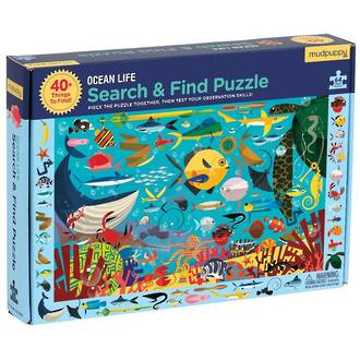 Mudpuppy Search & Find Puzzle Ocean Life (64pcs)