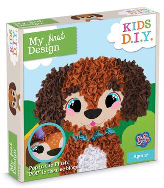 My First Design: Puppy Plushcraft Kit