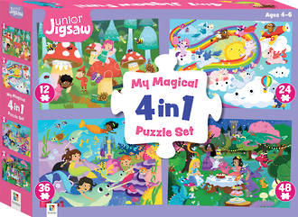 My Magical 4 in 1 Puzzle Set