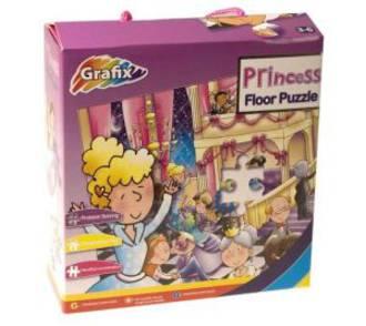 Princess Floor Puzzle : 45 Piece Floor Puzzle