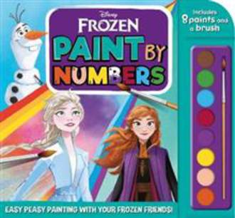 Paint By Numbers Disney Frozen