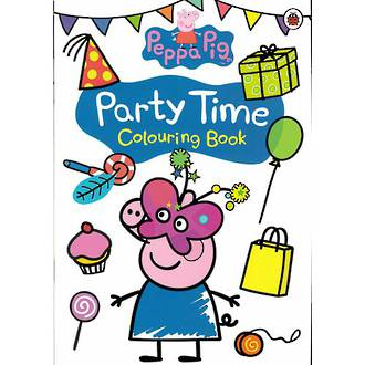 Peppa Pig Party Time Colouring Book