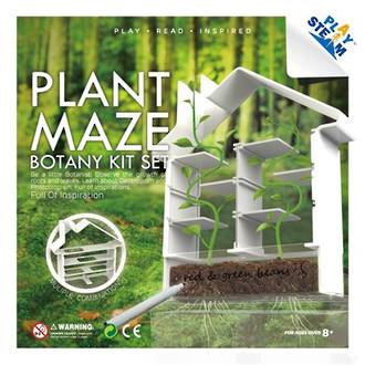 PlaySteam Plant Maze Botany Kit Set