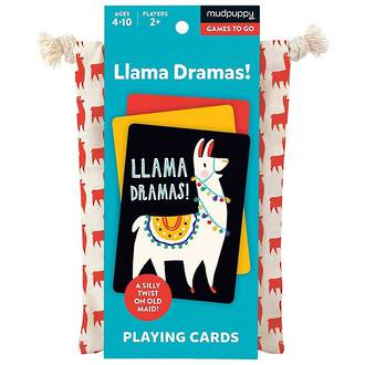 Playing Cards Llama Drama