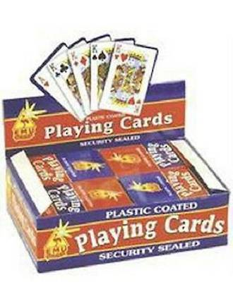 Plastic Coated Playing Card