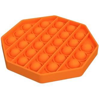 Popit Fidget Octagon Orange