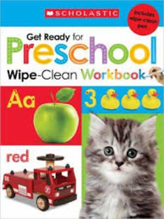 Get Ready for Preschool Wipe-Clean Workbook