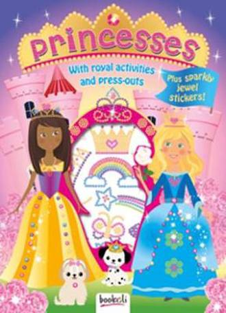 Puffy Sticker Jewel Princess