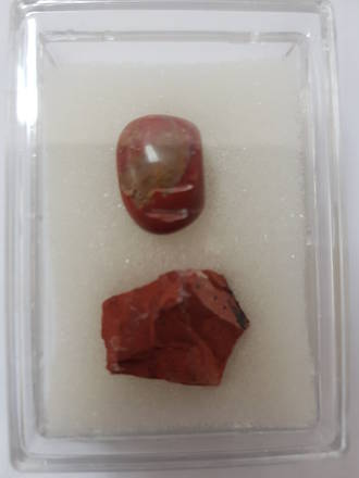 Mineral And Gem Collection - Red Jasper